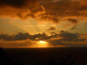 Kauai Sunset by ZookieCookie