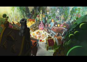 kerubim Dofus  Background color by Inkola