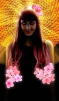 Flower Hair by AnonTheDarkOne