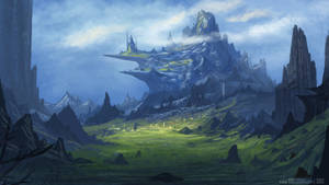 Landscape Mountain June19th by YogFingers
