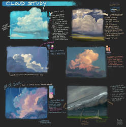 Cloud Studies by YogFingers