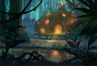 Onion Hut by YogFingers
