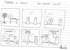 Pepper and Salt - Issue 06 by theoldbean