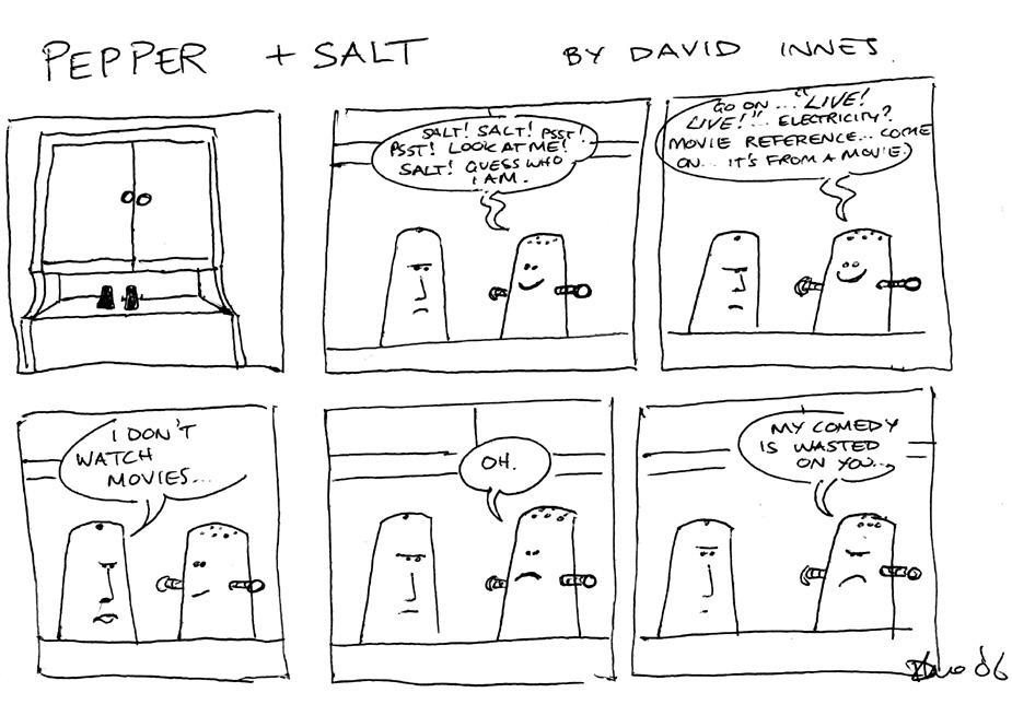 Pepper and Salt - Issue 14 by theoldbean