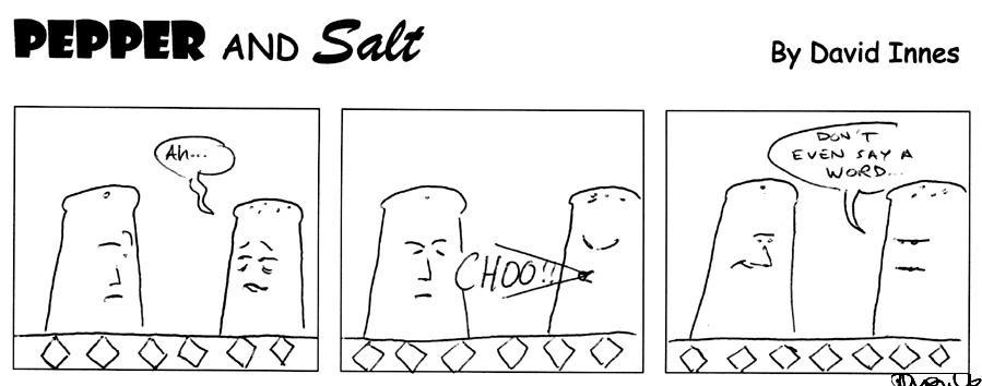 Pepper and Salt - Issue 23 by theoldbean