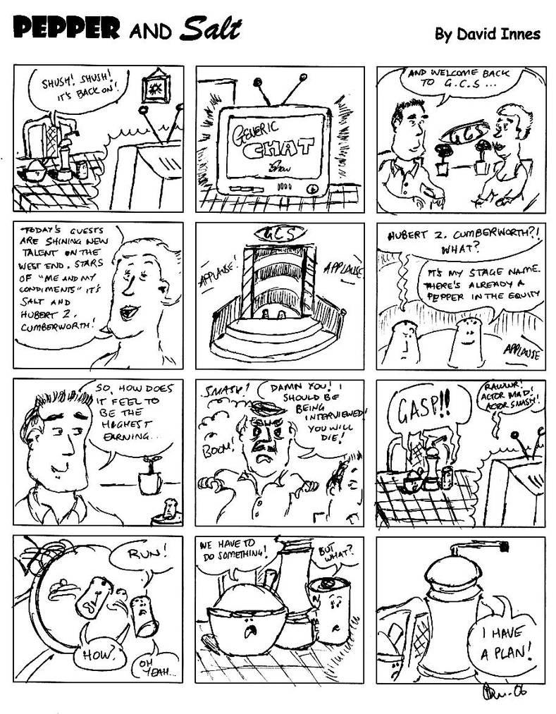 Pepper and Salt - Issue 28 by theoldbean