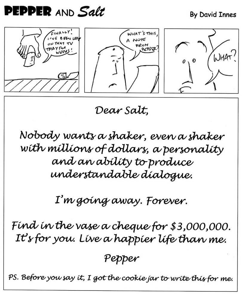 Pepper and Salt - Issue 32 by theoldbean