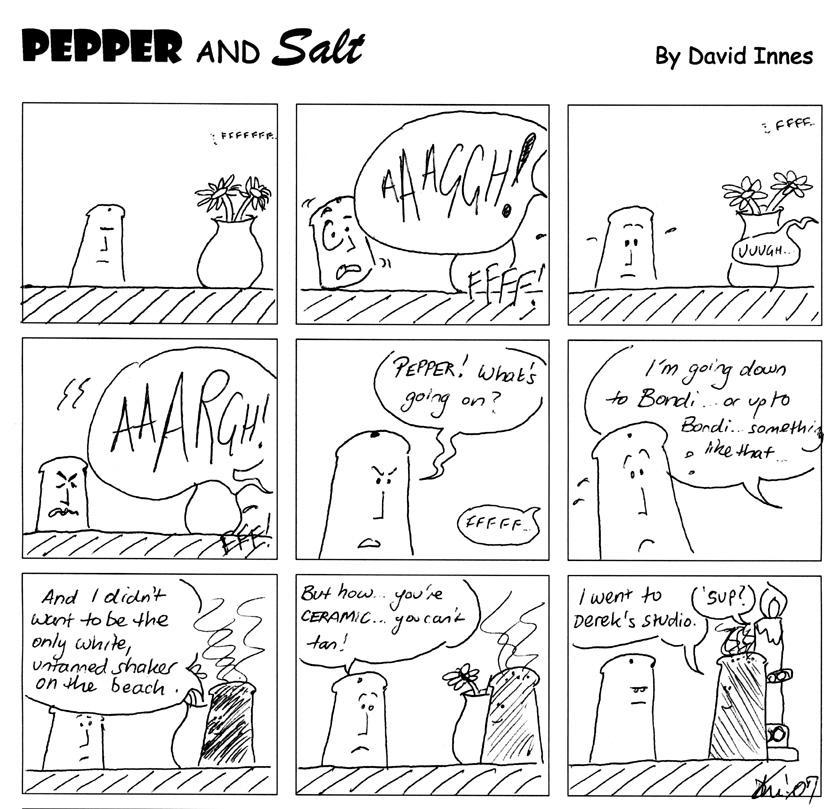 Pepper and Salt - Issue 36 by theoldbean