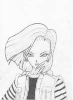 Android 18 by Eviilyn
