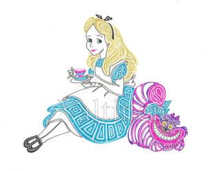 Alice in Wonderland by ErikAngelofMusic