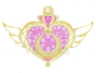 Sailor Moon Symbol by ErikAngelofMusic