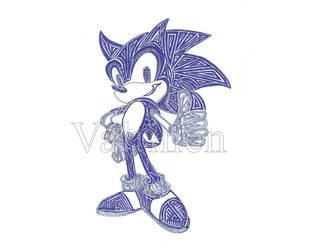 Sonic by ErikAngelofMusic