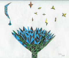 Moonlit Lotus by sapphirelotus