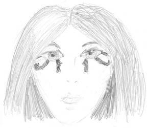 Egyptian girl by sapphirelotus