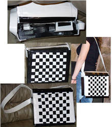 Ska Duct Tape Messenger Bag by sapphirelotus