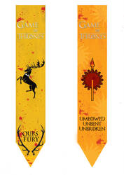 Game of Thrones Page Markers2 by Fabyanou
