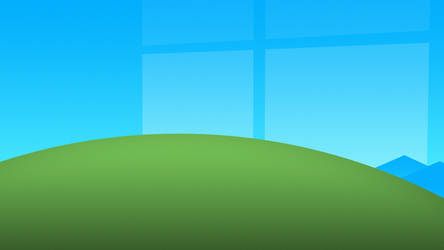 Windows Bliss in 4K [Wallpaper 2019] by carbongo