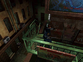 Resident evil 2 Screen shoot Leon by Rebeccamines