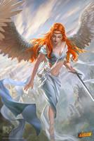 Angel-of-Order lv1 [www.redpencilart.com] by redpencilart
