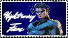 Nightwing Stamp by CupcakeAttack85