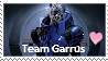 Team Garrus Stamp by theglittereyedsheep