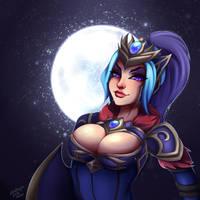 Luna.vs.luna by Satanya-art