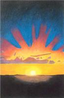Sunset by burthefly
