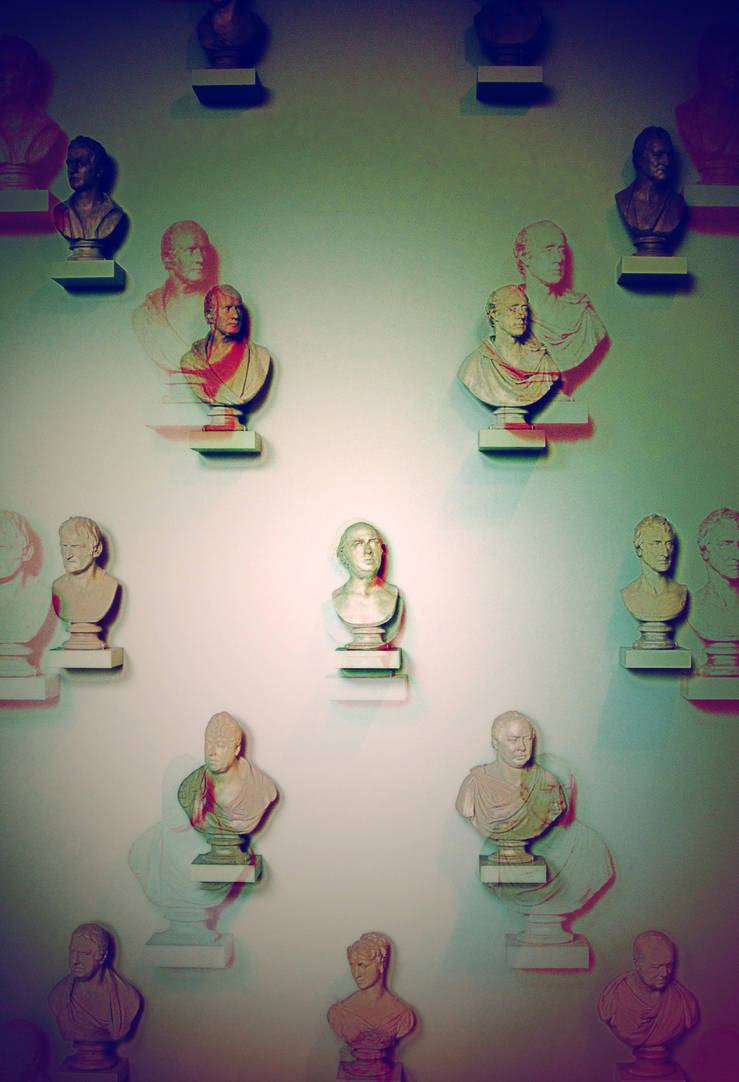Wall of Busts by burthefly