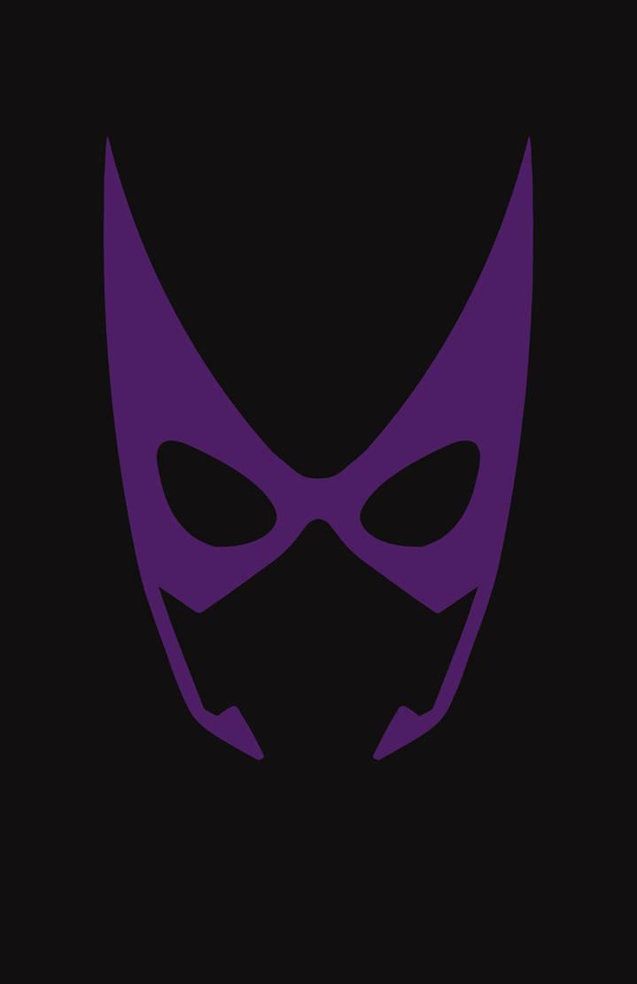 Huntress Mask Minimalist Design by burthefly