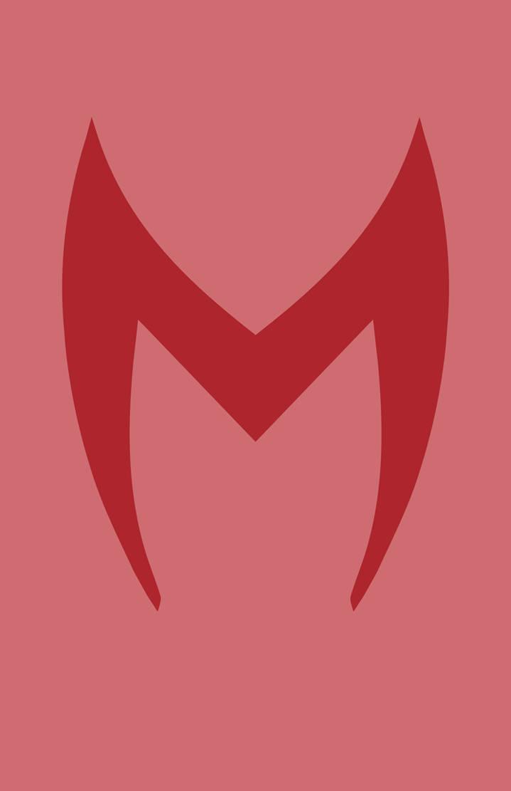 Scarlet Witch Mask Minimalist Design by burthefly