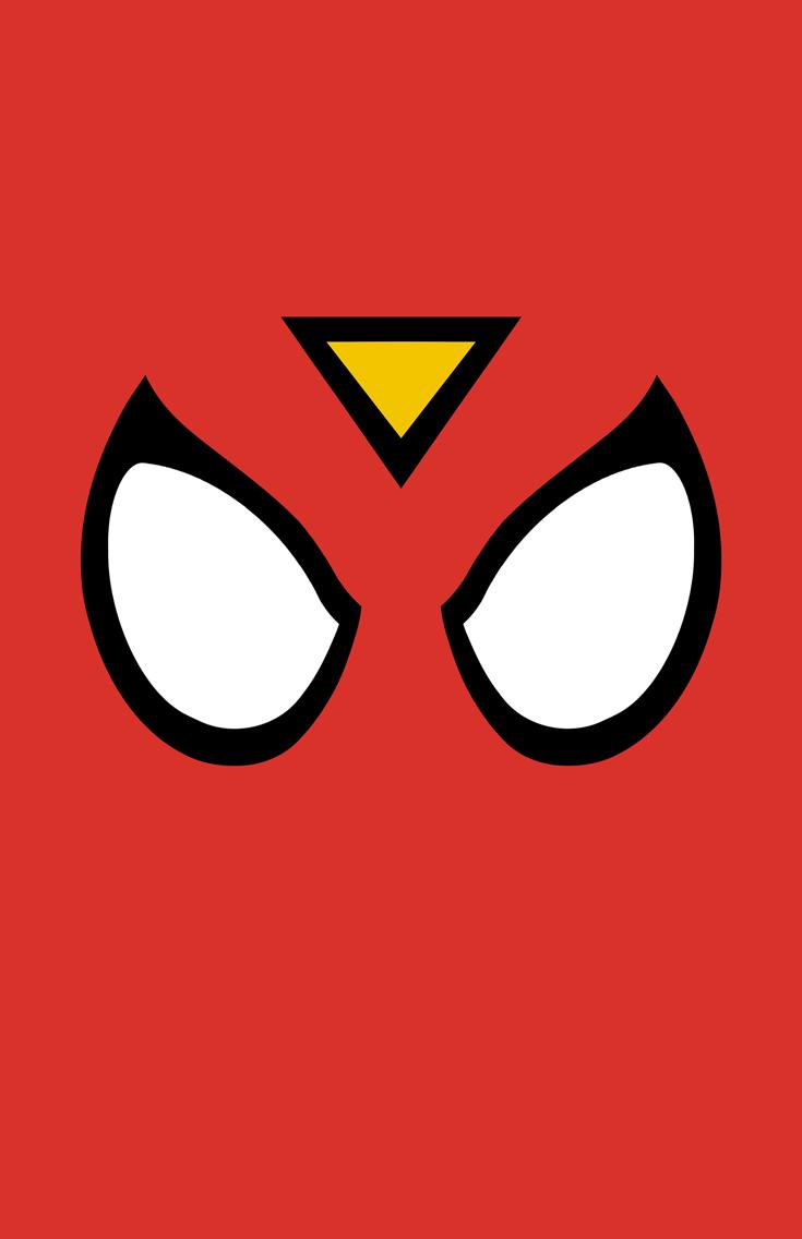 Spider-Woman Mask Minimalist Design by burthefly