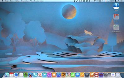 First Mavericks Desktop by fumiya