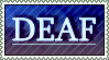 I'm Deaf  - Stamp by Reptonic