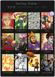 Reptonic's 2018 Summary of Art by Reptonic