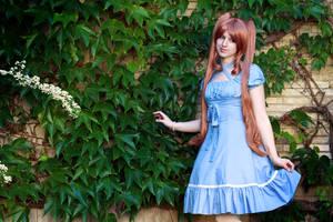 Blue Dress by PaXingCai