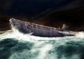 U99 Submarine by Vi2DoubleYu