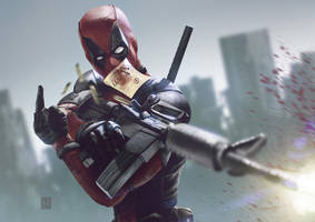 Deadpool by NeerajMenon