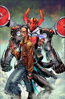 Micronauts:Wrath Of Karza #5 by NeerajMenon
