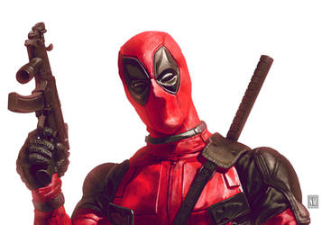 Deadpool smoulder by NeerajMenon