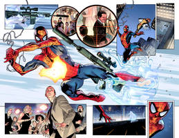 Spider-Man color test page #2 by NeerajMenon