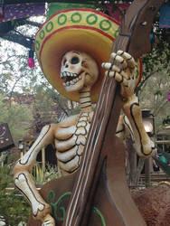 Boney Bassist by BlackVulmea