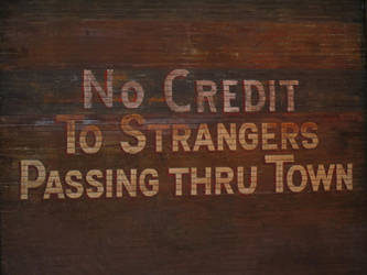No Credit to Strangers by BlackVulmea