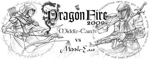 Dragonfire Mug by UncleJi