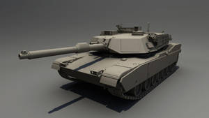 M1 Abrams by STUNNA-K