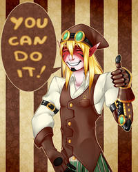 You can do it!! by Medral