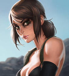 Quiet MGS5 by dandonfuga