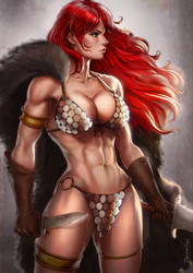 Red Sonja by dandonfuga
