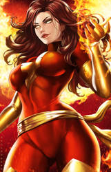 Dark Phoenix by dandonfuga