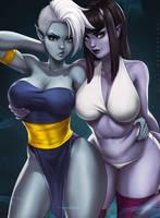 Cidra and Lilli by dandonfuga