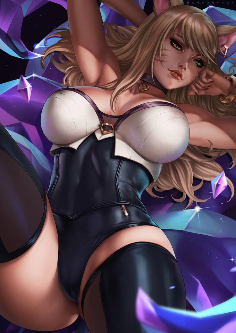 Ahri (KDA) by dandonfuga